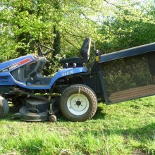 Box and collect grass cutting
