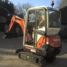 Digger with Operator