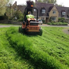 Local authority grass maintenance